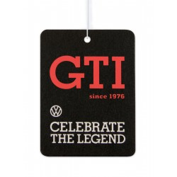 VOLKSWAGEN VW GTI AIR freshener - Hexagon / cocos SINCE 1976