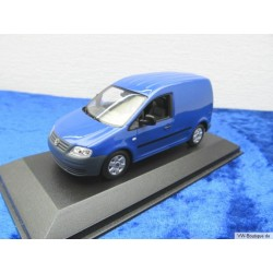 VW Caddy Kastenwagen blau