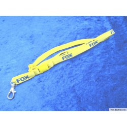 VW FOX Keychain yellow