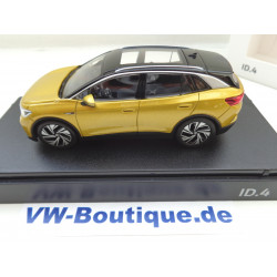 VOLKSWAGEN VW ID.4 from NOREV in 1:43 honey yellow 11A099300 B1W NEW