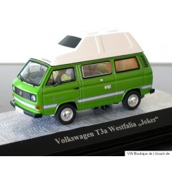 VW T3 Camper a high roof Joker green