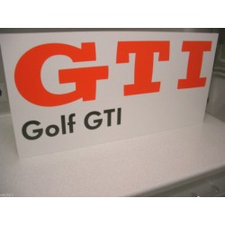 VW GTI Sticker GOLF, GTI, Pirelli