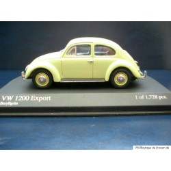 VW Käfer 1200 Ovali Export beryllgrün 1:43