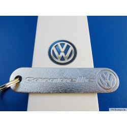 VW CARAVELLE keychain with VW sign