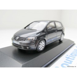 VW Golf Plus 2005 in blackmagic 1:43