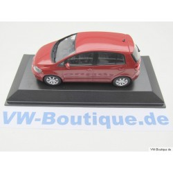 VW Golf Plus 2005 rotmetallic 1:43
