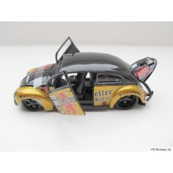 VW Beetle Maisto Tuning Engine black / gold 1:24