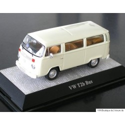 VW T2b Bus window pastel white 1:43