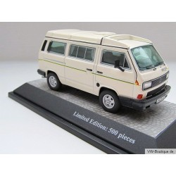 VOLKSWAGEN VW T3 bus California white 1:43