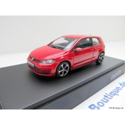 VW Golf GTI 7 VII 2-door Tornado red 1:43