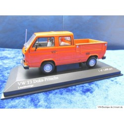VW T3 Doka b signal orange 1:43