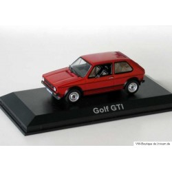 VW Golf 1 GTI red original interior 1:43