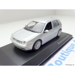 "VW Golf 4 GTI 4-Door ""Generation Golf"" silver 1:43"
