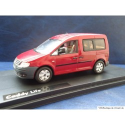 VW Caddy Life NEO rot 1:43