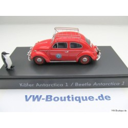 "VW Beetle 1200 Antarctica 1 ""Red Terror"" ruby 1:43"