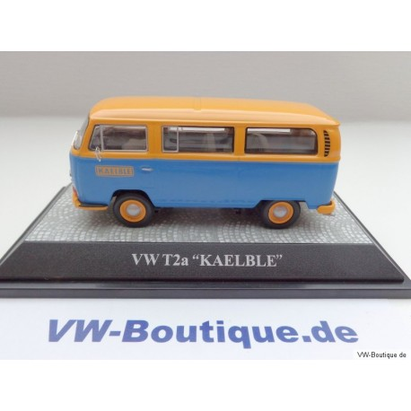 "VW T2a Window Bus with advertising ""KAELBLE"" 1:43"