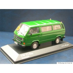 "VW T3 bus ""school trip"" escorial green 1:43"