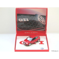 VW Golf 5 GTI 2-Door rarity special packaging internally VOLKSWAGEN 1:43