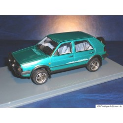 VW Golf 2 Country Green 1:43