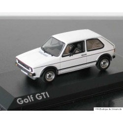 VW Golf 1 GTI 2-Door white 1:43