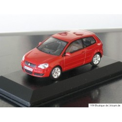 VW Polo 4 9N3 sunset red metallic 1:43
