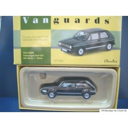 VW Golf 1 GTI MK1 of Vanguards black 1:43