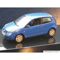 VW Polo 4 9N1 IV Summer blue 1:43