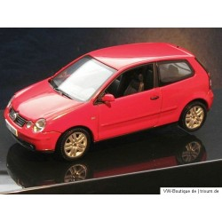 VW Polo 4 9N1 IV Flash red 1:43