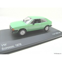 VW Scirocco 1 of Whitebox green