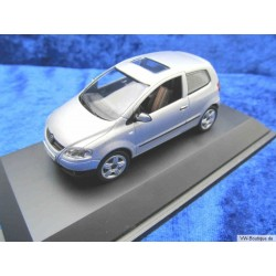 VW Fox glass roof silver 1:43
