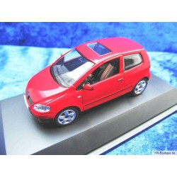 VW Fox glass roof red 1:43