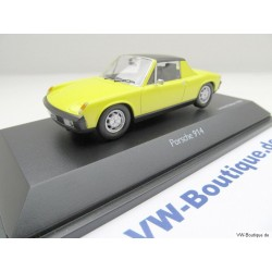 VW Porsche 914 saturn yellow 1:43