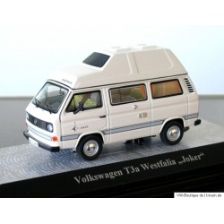 VW T3 a high roof Joker white / green interiors 1:43