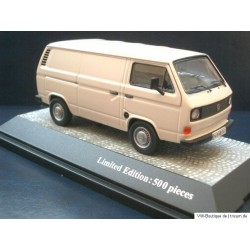 VW T3 a panel van pastel white  1:43